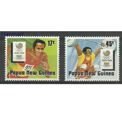 Znaczek Papua Nowa Gwinea 1988 Mi 578-579 Czyste **