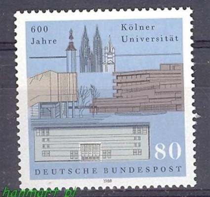 Niemcy 1988 Mi 1370 Czyste **