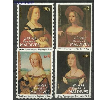 Znaczek Malediwy 1983 Mi 1023-1026 Czyste **