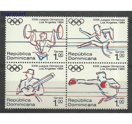 Znaczek Dominikana 1984 Mi 1427-1430 Czyste **
