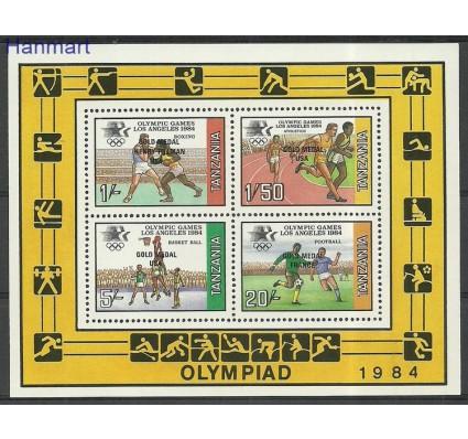 Znaczek Tanzania 1985 Mi bl45 Czyste **