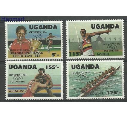 Znaczek Uganda 1984 Mi 397-400 Czyste **