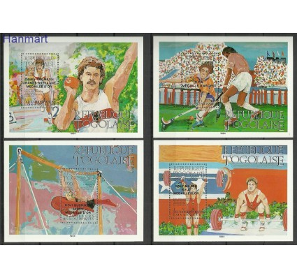Znaczek Togo 1985 Mi bl268-275 Czyste **