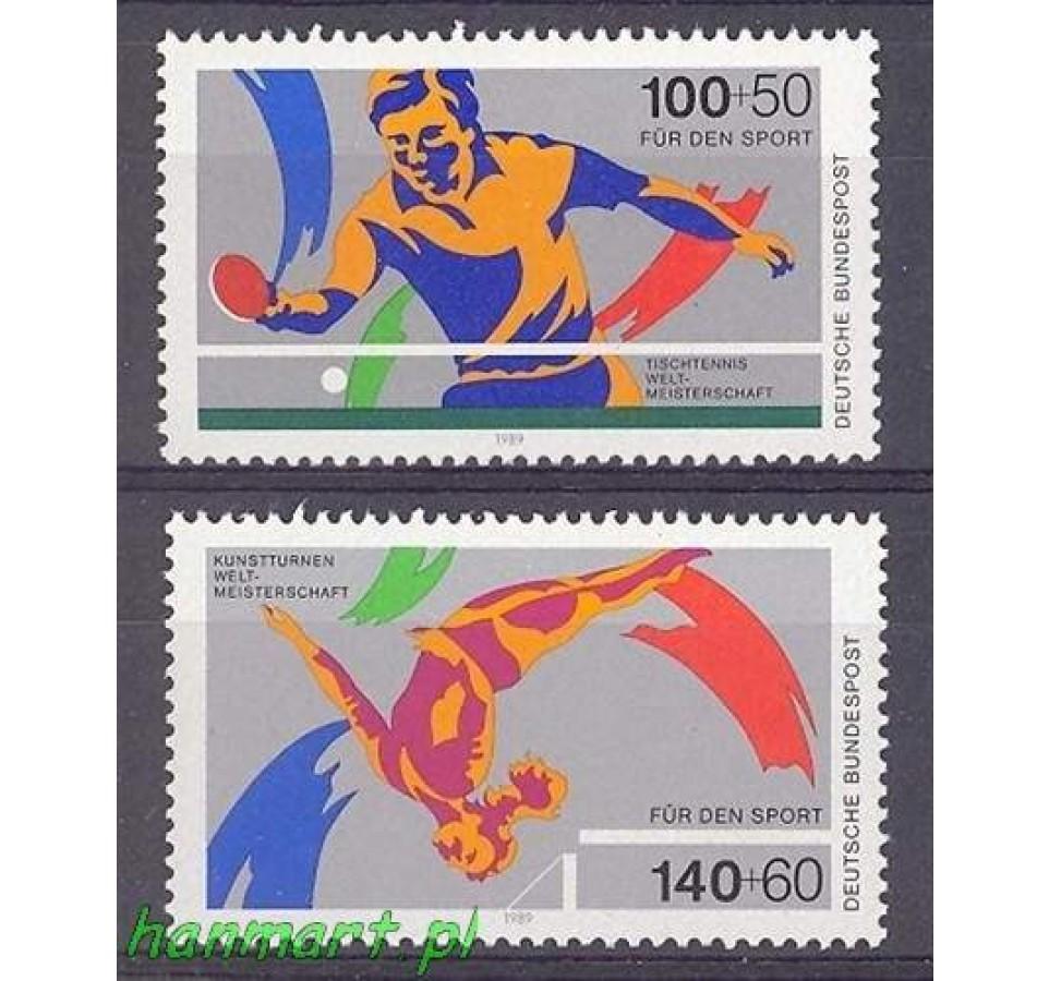 Niemcy 1989 Mi 1408-1409 Czyste **