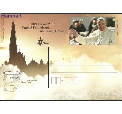Znaczek Polska 2016 Fi Cp 1753 Całostka pocztowa