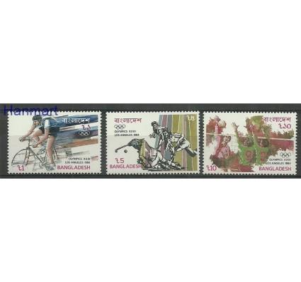 Znaczek Bangladesz 1984 Mi 220-222 Czyste **