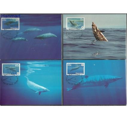 Znaczek Bahamy 2007 Mi 1281-1284 Karta Max