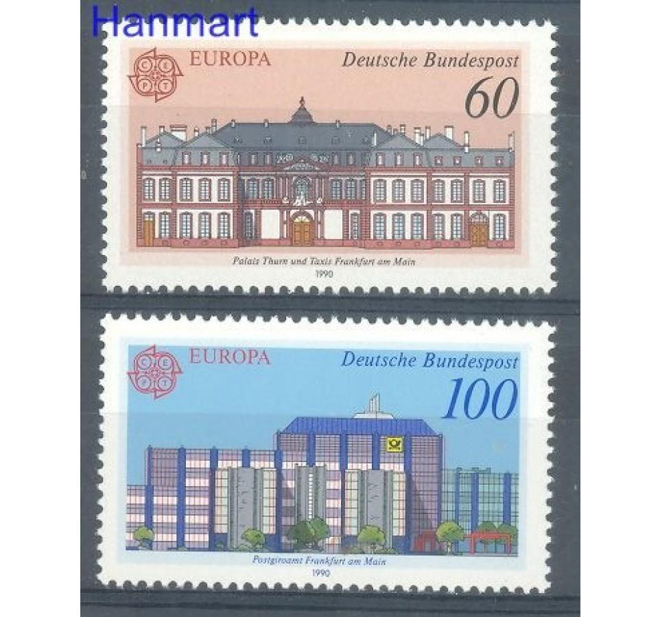 Niemcy 1990 Mi 1461-1462 Czyste **