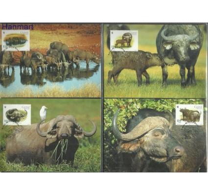 Znaczek Gwinea Bissau 2002 Mi 2009-2012 Karta Max