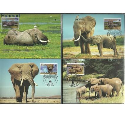Znaczek Mozambik 2002 Mi 2393-2396 Karta Max