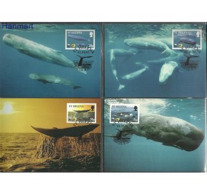 Znaczek Wyspa św. Heleny 2002 Mi 852-855 Karta Max