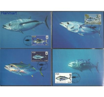 Znaczek Fidżi 2004 Mi 1059-1062II Karta Max