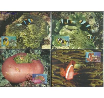 Znaczek Nauru 2003 Mi 553-556 Karta Max