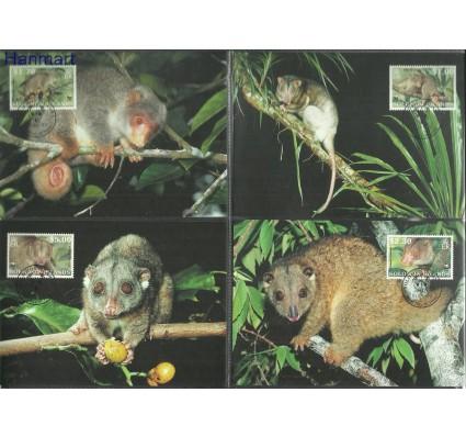 Znaczek Wyspy Salomona 2002 Mi 1062-1065 Karta Max