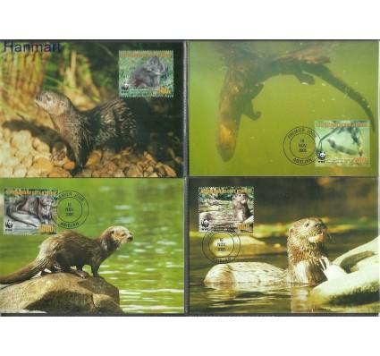 Znaczek Wybrzeże Kości Słoniowej 2005 Mi 1353-1356 Karta Max