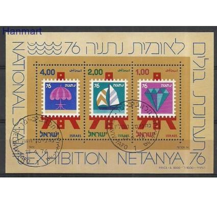 Znaczek Izrael 1976 Mi bl15 Stemplowane