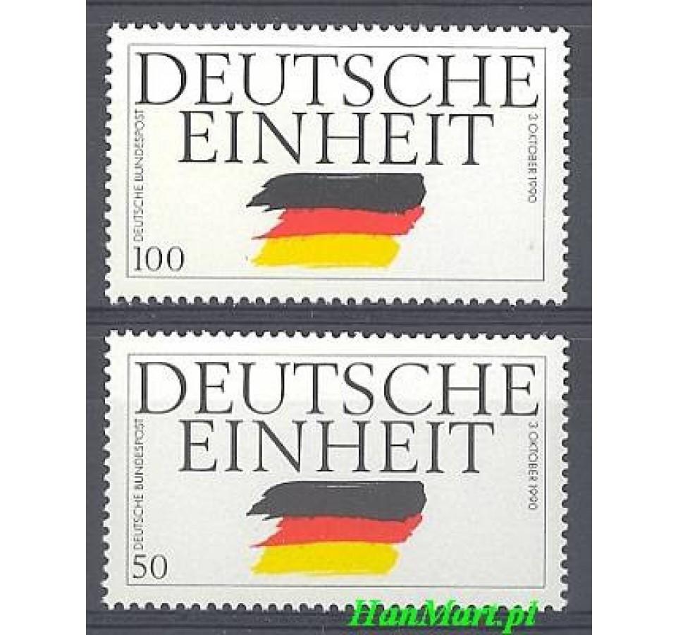 Niemcy 1990 Mi 1477-1478 Czyste **