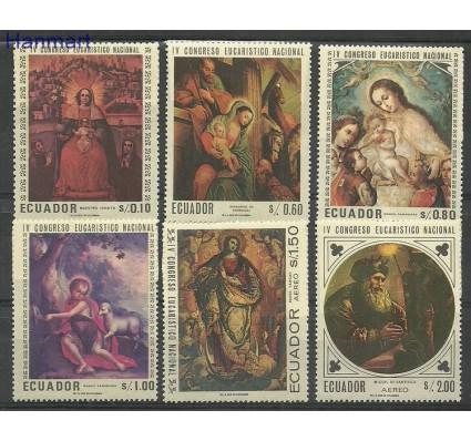 Znaczek Ekwador 1967 Mi 1337-1342 Czyste **