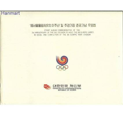 Znaczek Korea Południowa 1988 Mi XZS9 SKAppIOSeul-1 Czyste **