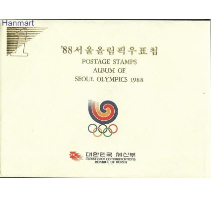 Znaczek Korea Południowa 1988 Mi ppIOSeul-2 Czyste **