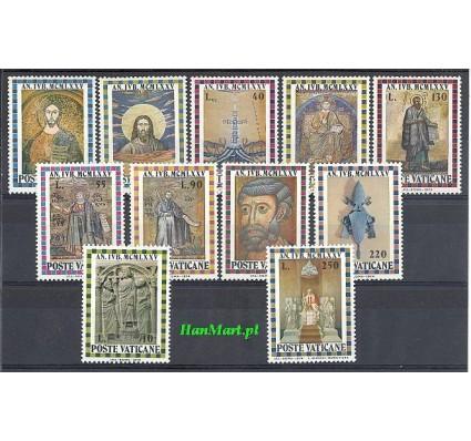 Znaczek Watykan 1974 Mi 646-656 Czyste **