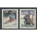Jugosławia 1988 Mi 2264-2265 Czyste **