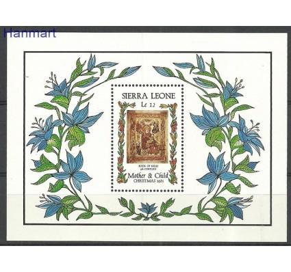 Znaczek Sierra Leone 1985 Mi bl38 Czyste **