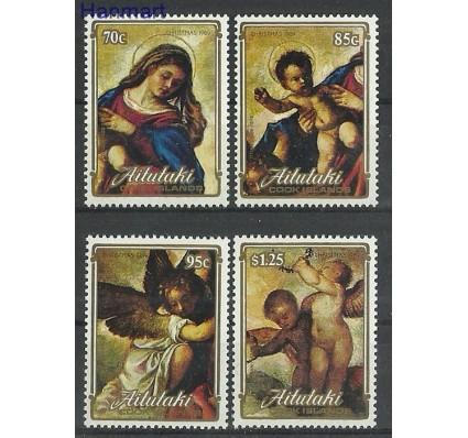 Znaczek Aitutaki 1989 Mi 658-661 Czyste **