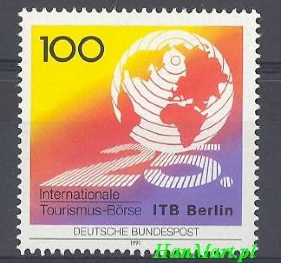 Niemcy 1991 Mi 1495 Czyste **