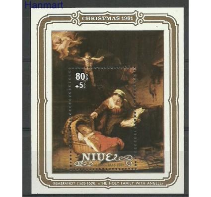Znaczek Niue 1981 Mi bl52 Czyste **