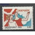 Dania 1985 Mi 834 Czyste **