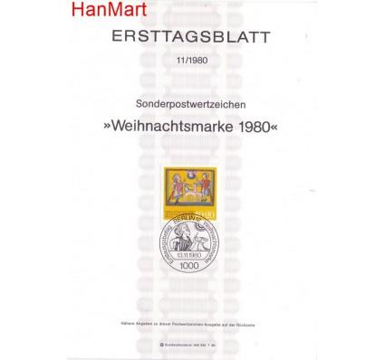 Znaczek Berlin Niemcy 1980 Pierwszy dzień wydania