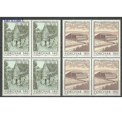 Znaczek Wyspy Owcze 1978 Mi 39-40 Czyste **