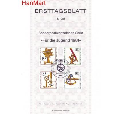 Znaczek Berlin Niemcy 1981 Pierwszy dzień wydania