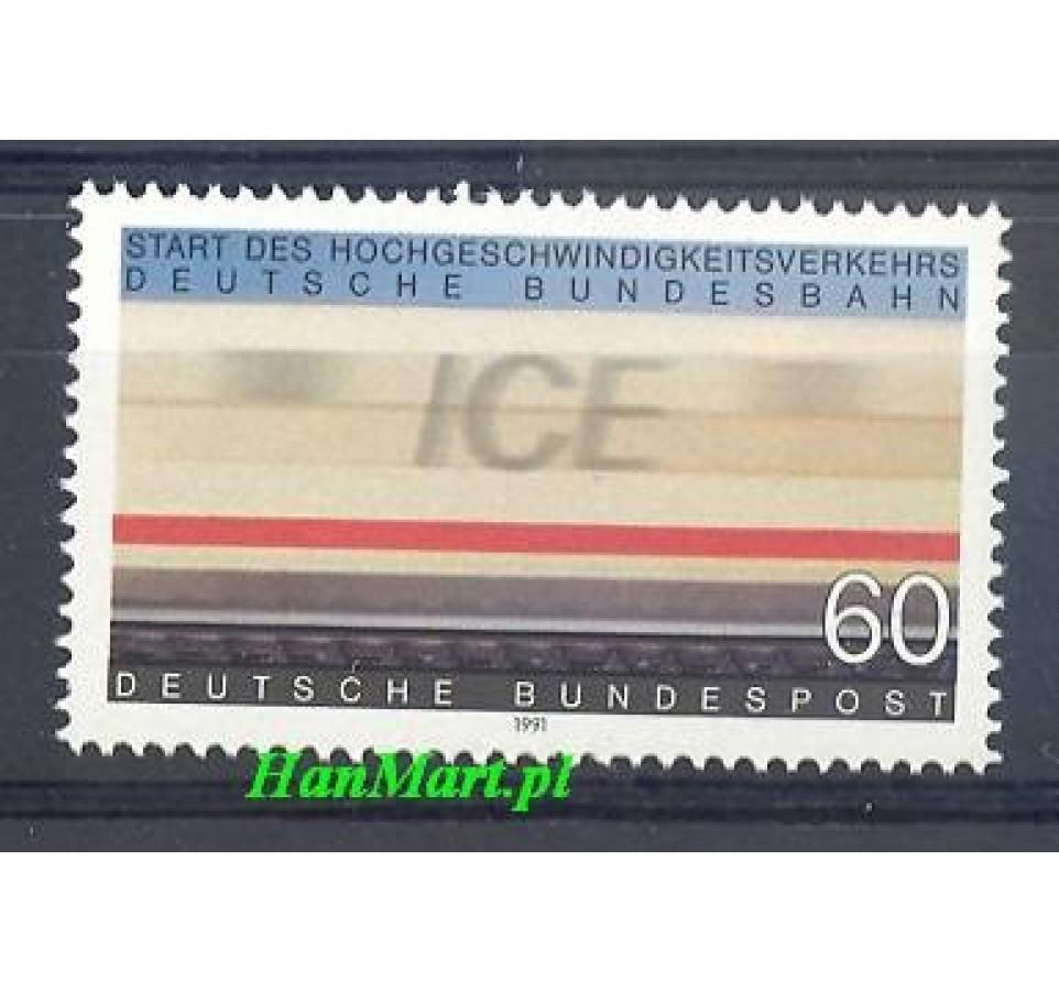 Niemcy 1991 Mi 1530 Czyste **