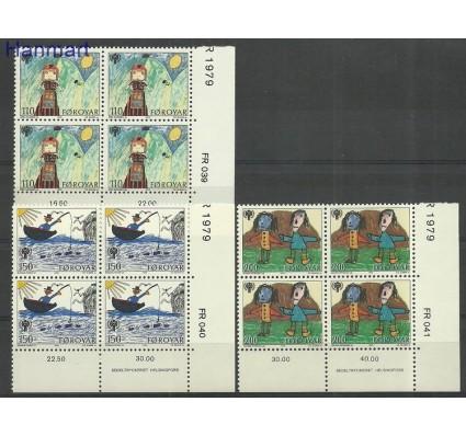 Znaczek Wyspy Owcze 1979 Mi 45-47 Czyste **