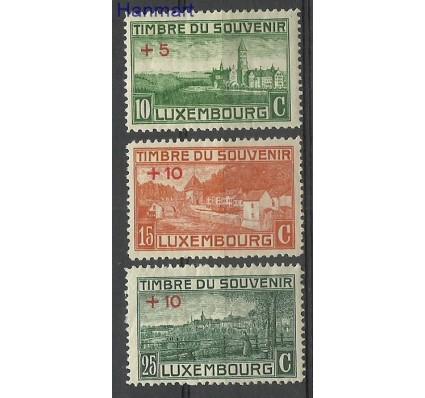 Znaczek Luksemburg 1921 Mi 137-139 Z podlepką *