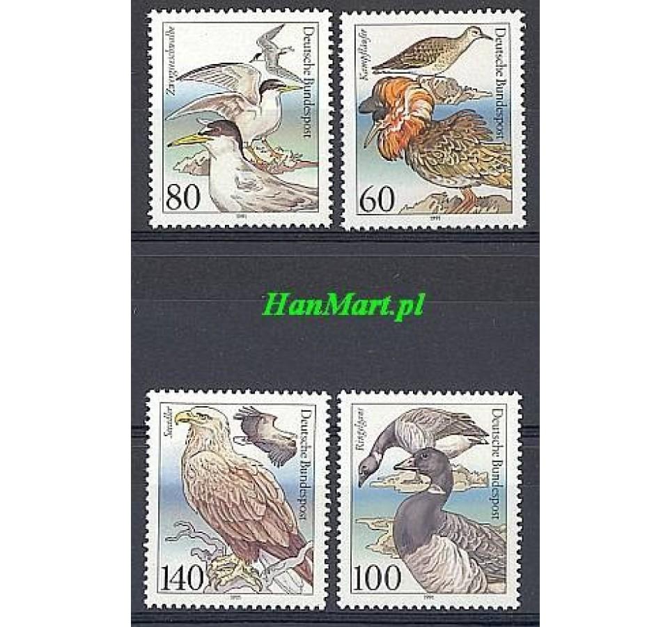 Niemcy 1991 Mi 1539-1542 Czyste **