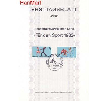 Znaczek Berlin Niemcy 1983 Pierwszy dzień wydania