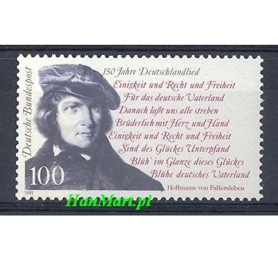 Niemcy 1991 Mi 1555 Czyste **
