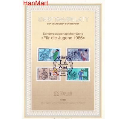 Znaczek Berlin Niemcy 1986 Pierwszy dzień wydania
