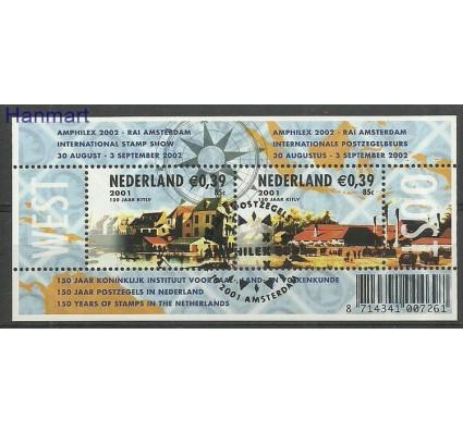 Znaczek Holandia 2001 Mi bl71 Stemplowane