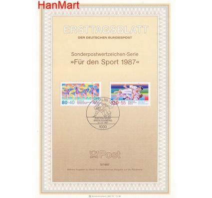 Znaczek Berlin Niemcy 1987 Pierwszy dzień wydania
