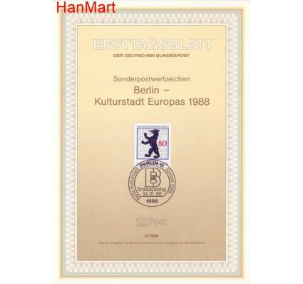 Znaczek Berlin Niemcy 1988 Pierwszy dzień wydania