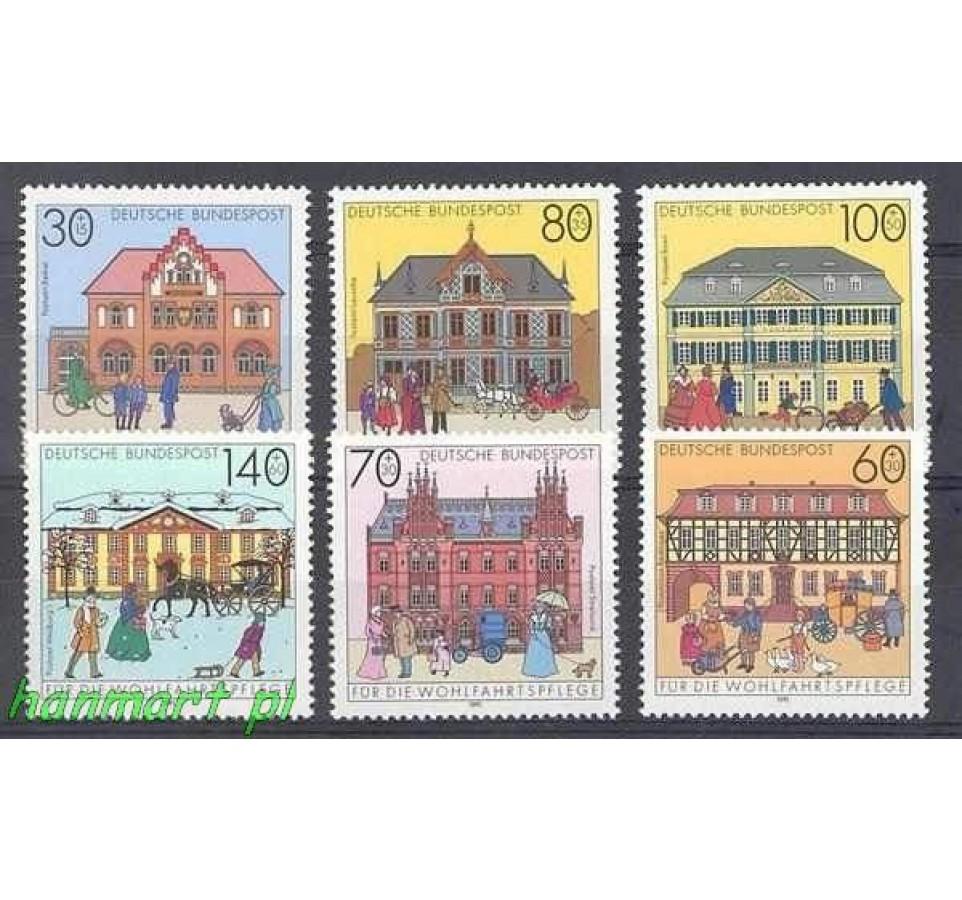 Niemcy 1991 Mi 1563-1568 Czyste **