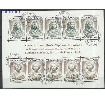 Znaczek Monako 1974 Mi bl7 Stemplowane