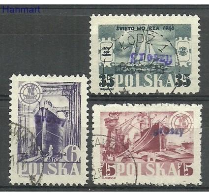 Znaczek Polska 1948 Mi gr 490-492 gr 459-461 Stemplowane