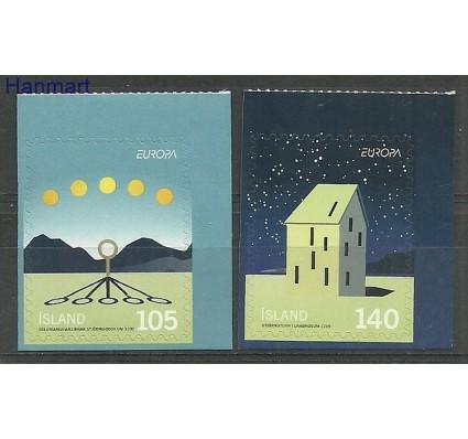 Znaczek Islandia 2009 Mi 1244-1245 Czyste **