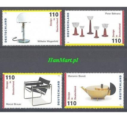 Niemcy 1998 Mi 2001-2004 Czyste **