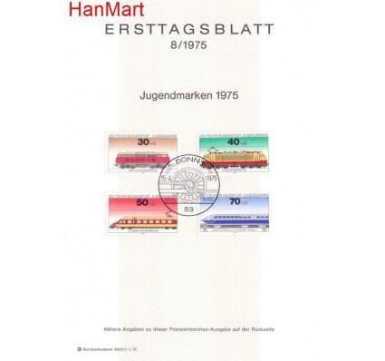 Znaczek Niemcy 1975 Pierwszy dzień wydania